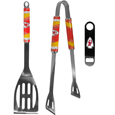 Kansas City Chiefs 2 pc BBQ Set and Bottle Opener