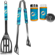 Miami Dolphins 2pc BBQ Set with Tailgate Salt & Pepper Shakers