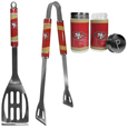 San Francisco 49ers 2pc BBQ Set with Tailgate Salt & Pepper Shakers
