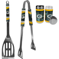 Green Bay Packers 2pc BBQ Set with Tailgate Salt & Pepper Shakers