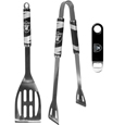 Oakland Raiders 2 pc BBQ Set and Bottle Opener