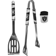 Oakland Raiders 2 pc BBQ Set and Chip Clip