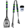 Seattle Seahawks 2 pc BBQ Set and Chip Clip