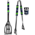 Seattle Seahawks 2pc BBQ Set with Season Shaker