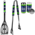 Seattle Seahawks 2pc BBQ Set with Tailgate Salt & Pepper Shakers