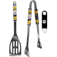 Pittsburgh Steelers 2 pc BBQ Set and Bottle Opener