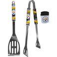 Pittsburgh Steelers 2 pc BBQ Set and Chip Clip