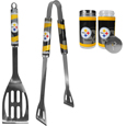 Pittsburgh Steelers 2pc BBQ Set with Tailgate Salt & Pepper Shakers