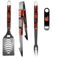 Cleveland Browns 3 pc BBQ Set and Bottle Opener