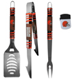 Cleveland Browns 3 pc BBQ Set and Chip Clip