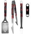 Tampa Bay Buccaneers 3 pc BBQ Set and Bottle Opener