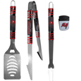 Tampa Bay Buccaneers 3 pc BBQ Set and Chip Clip