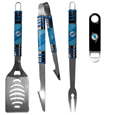 Miami Dolphins 3 pc BBQ Set and Bottle Opener