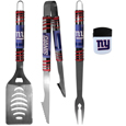 New York Giants 3 pc BBQ Set and Chip Clip