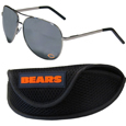 Chicago Bears Aviator Sunglasses and Sports Case