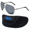 Carolina Panthers Aviator Sunglasses and Sports Case
