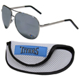 Tennessee Titans Aviator Sunglasses and Sports Case
