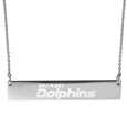Miami Dolphins Bar Necklace