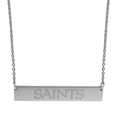 New Orleans Saints Bar Necklace