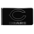 Chicago Bears Black and Steel Money Clip