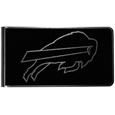 Buffalo Bills Black and Steel Money Clip