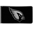 Arizona Cardinals Black and Steel Money Clip