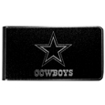 Dallas Cowboys Black and Steel Money Clip