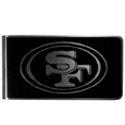 San Francisco 49ers Black and Steel Money Clip