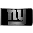 New York Giants Black and Steel Money Clip