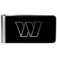 Washington Redskins Black and Steel Money Clip