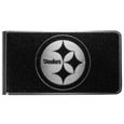 Pittsburgh Steelers Black and Steel Money Clip