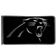 Carolina Panthers Black and Steel Money Clip