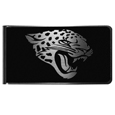 Jacksonville Jaguars Black and Steel Money Clip
