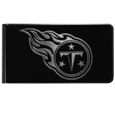 Tennessee Titans Black and Steel Money Clip