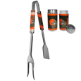 Cleveland Browns 3 in 1 BBQ Tool and Salt & Pepper Shaker