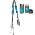 Miami Dolphins 3 in 1 BBQ Tool and Season Shaker