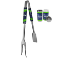 Seattle Seahawks 3 in 1 BBQ Tool and Season Shaker