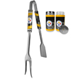 Pittsburgh Steelers 3 in 1 BBQ Tool and Season Shaker