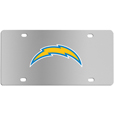 Los Angeles Chargers Steel License Plate Wall Plaque
