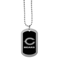 Chicago Bears Chrome Tag Necklace