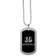 Cincinnati Bengals Chrome Tag Necklace