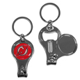 New Jersey Devils® Nail Care/Bottle Opener Key Chain