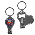 New York Islanders® Nail Care/Bottle Opener Key Chain
