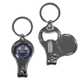 Edmonton Oilers® Nail Care/Bottle Opener Key Chain