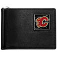 Calgary Flames® Leather Bill Clip Wallet