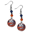 New York Islanders® Fan Bead Dangle Earrings