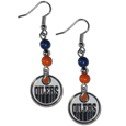 Edmonton Oilers® Fan Bead Dangle Earrings