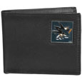 San Jose Sharks® Leather Bi-fold Wallet