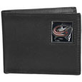 Columbus Blue Jackets® Leather Bi-fold Wallet