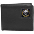 Buffalo Sabres® Leather Bi-fold Wallet